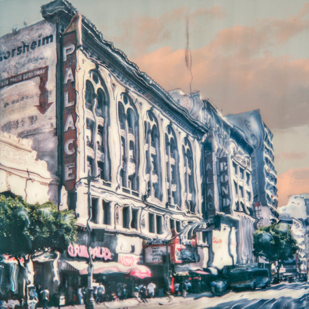 "PALACE THEATER, LOS ANGELES:  16"" X 16"" & 24"" X 24"""